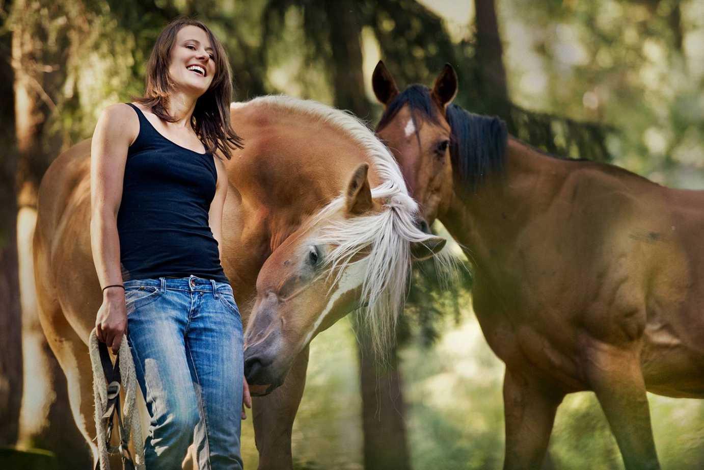 Pferdemensch, Yogalehrerin, medizinische Masseurin Magdalena Tauber