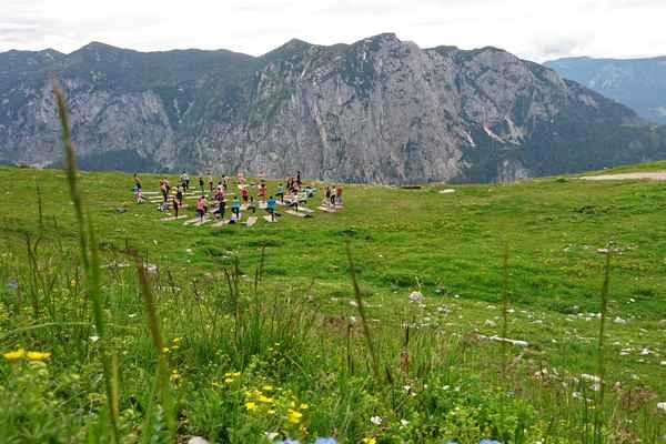 Yoga am Berg beim Yogafestival 2017 DIE WASNERIN