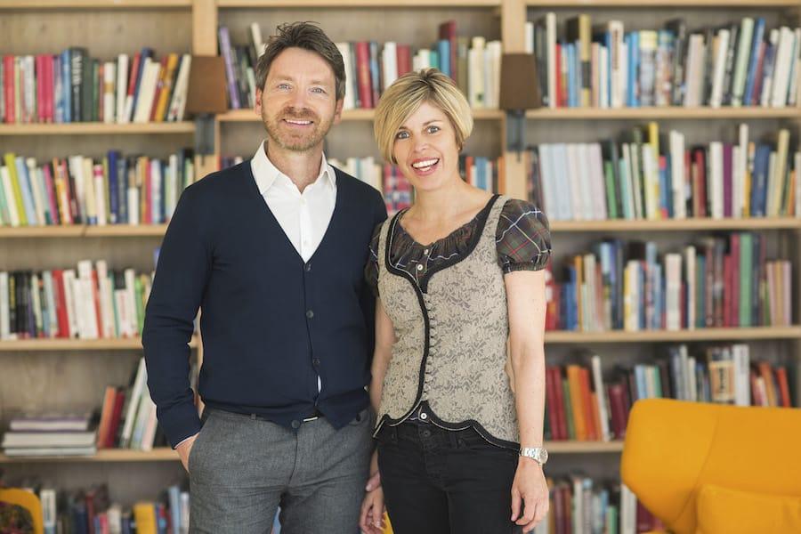 Karin Leeb und Martin Klein