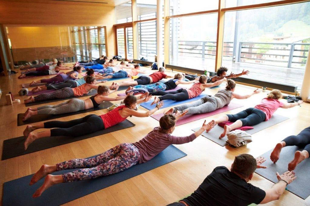 Yoga mit Marc Laws