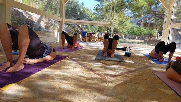 Yoga © Katharina Bauer