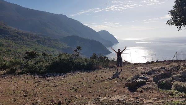Yoga und Wandern im Süden von Kreta
