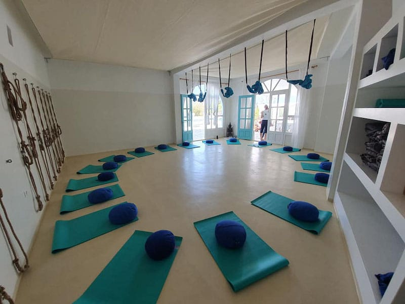 Yoga Retreat in Paros mit Bruno Teyssandier